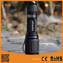 S12 Most Powerful LED Light Rechargeable Torch Light for Hunting, Police, Emergtency