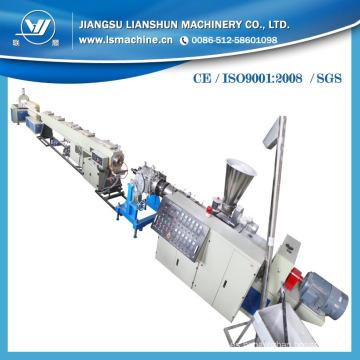 Larga vida plástico PVC pared pipa lisa que hace la máquina