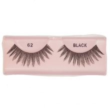 Black strip 100% human hair false eyelash at cheap price