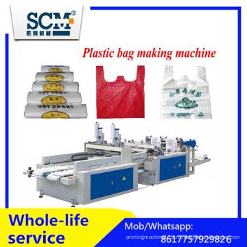 Пластиковая сумка делая машину / T-Shirt сумка машина / жилет мешок делая машину