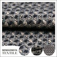 Hecho en China 100% poliéster tejido de lana de prendas de vestir para los zapatos