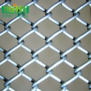 Cyclone Wire Mesh Galvanized Chain Link Fence