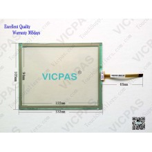 PWS6600T-P Touch screen panel per Hitech