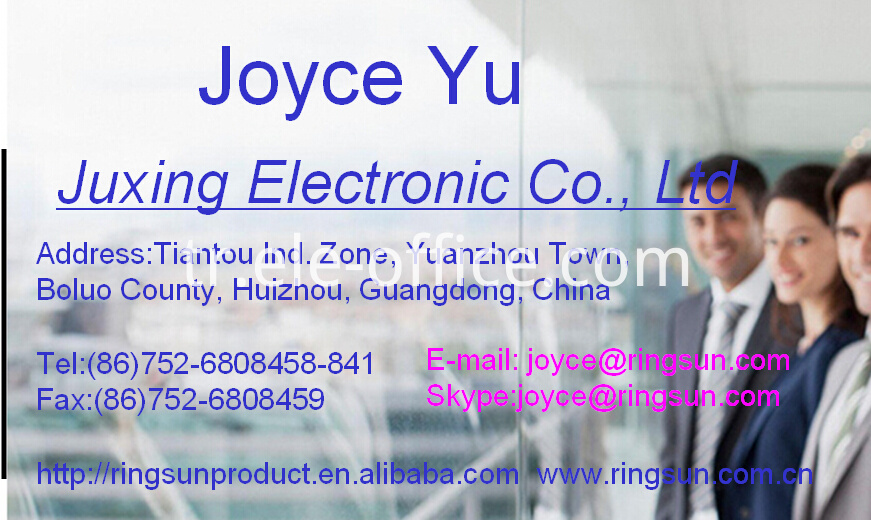 Joyce Factory namecard