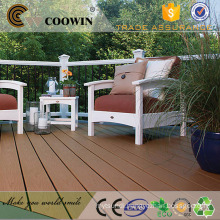 wpc artificial crack-resistant engineered decking