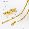 42884 Xuping Jewelry 2016 women necklace, 24k gold long chain necklace