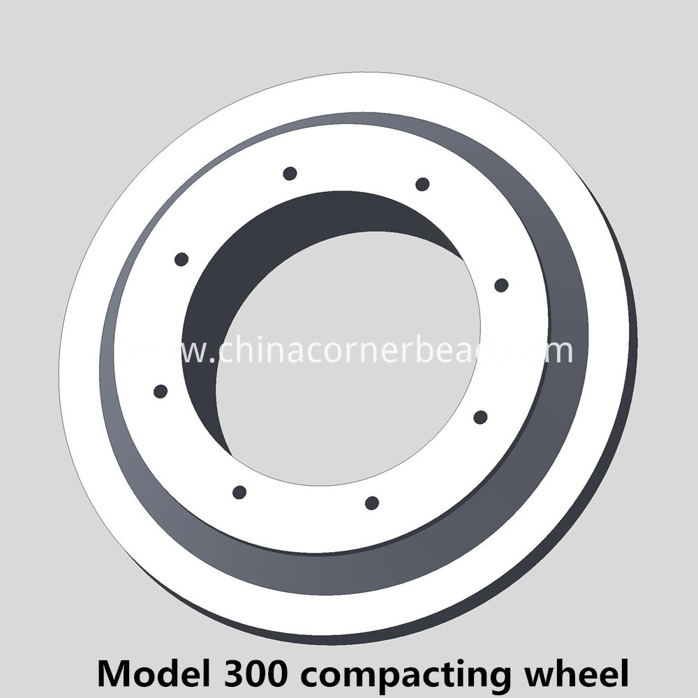 Model 300 compacting wheel