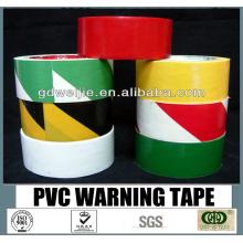 Fita de advertência de PVC de alta qualidade