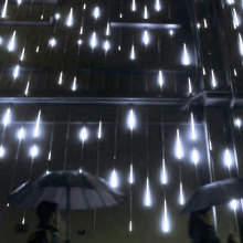 Meteor Shower Falling Rain Christmas Lights