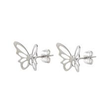 E-330 Xuping charme Bijoux littéraire simple ajouré papillon en forme de boucles d'oreilles