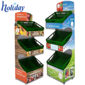 Competitive Price Cardboard Storage Fruit Vegetable Display Rack