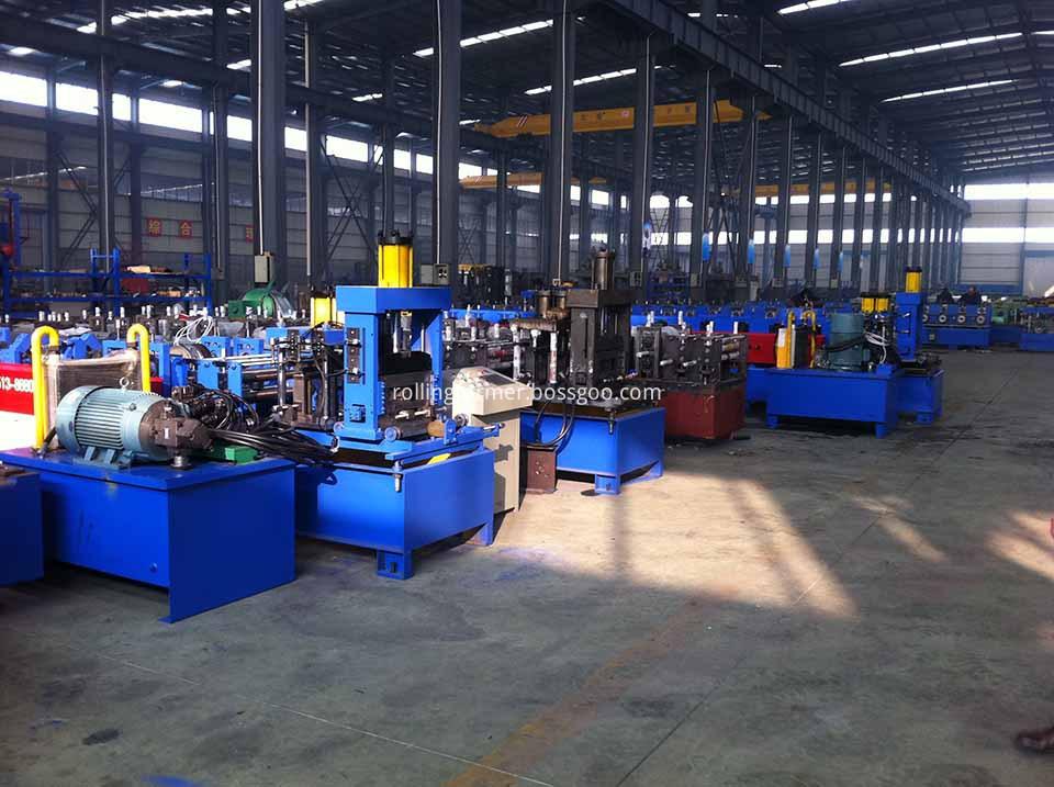 steel purlin profiles roll forming machine