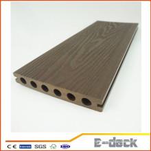 Противоскользящая текстура древесины Новая технология деревянного пластикового композита для напольного WPC настила пола