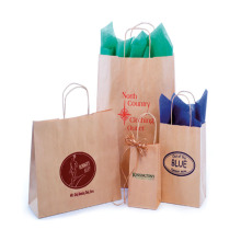 Custom Kraft Paper Gift Bag for Toys Packing