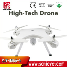 2016 NOVO Estilo de Design SJY-W606-5 HD 5.8G FPV Live Video RC Camara Drone Toy Presente Zangão