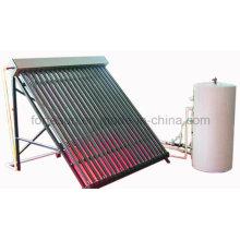 Sistema de calefacción solar presurizado de alta presión Heatpipe de la presión de cobre