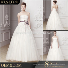 High Quality Custom Made high-low wedding dress patterns