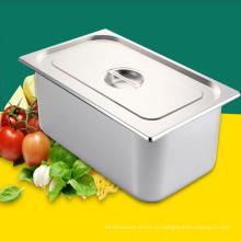 Поставки для ресторанов и гостиниц Поднос из нержавеющей стали для гастроемкостей, набор посуды Deep GN Container GN Pan