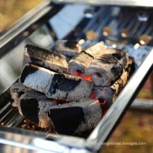Лучшая цена 100% натуральный барбекю барбекю брикет из опилок древесный уголь для продажи