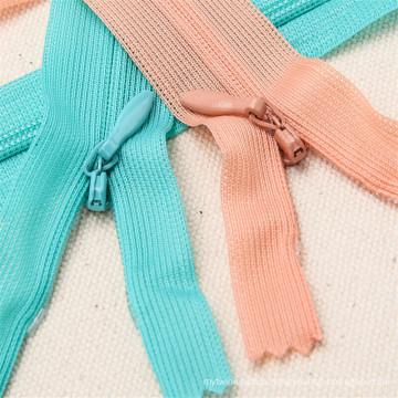 Wholesale High Quality Custom Design Fashion Metal Nylon Zipper