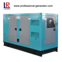 Gerador diesel elétrico silencioso de 100kVA 80kw