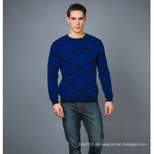 Männer Mode Kaschmir Blend Pullover 17brpv074