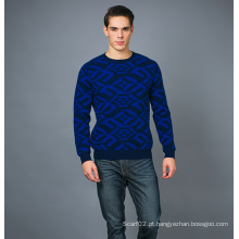 Men's Fashion Cashmere Blend Sweater 17brpv074