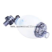 Mascarilla de silicona reutilizable para anestesia