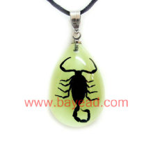 Real insect amber Necklace Fashion Jewelry,unique gift,souvenir gift,tourist souvenir