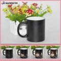 Hot Sale matte ceramic coffee mug color changing sublimation mug China Factory