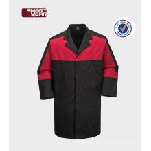Fábrica china OEM dos tonos dos bolsillos en el pecho barato uniformes de seguridad