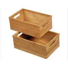 OEM for Bamboo Office Stationery Rack Bamboo multi-purpose storage box export to Mongolia Factory