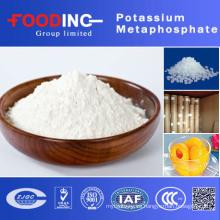 Metafosfato de potasio para el procesamiento de carne