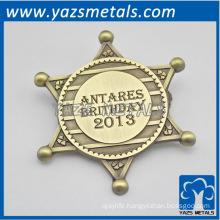 customize birthday badge,custom high quality congratulation badges