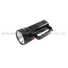Torche en plastique rechargeable légère 3W + 9LED