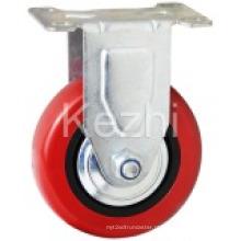 Roda de rodízio de tipo médio tipo PVC (KMx11-M10)