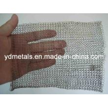 Malla de alambre de tejido de punto de acero inoxidable