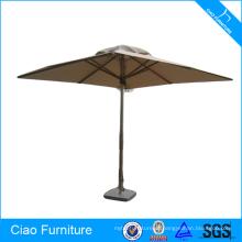 Barraca de material ao ar livre tipo guarda-chuva de aço inoxidável pólo