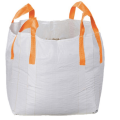 White bulk bag with orange belt