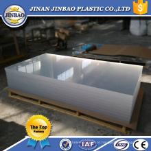 uma folha de plexiglass usada flexível clara da classe para a venda