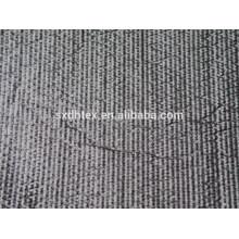 listra de poliéster bordado tecido acolchoado térmico com colchas para jaqueta