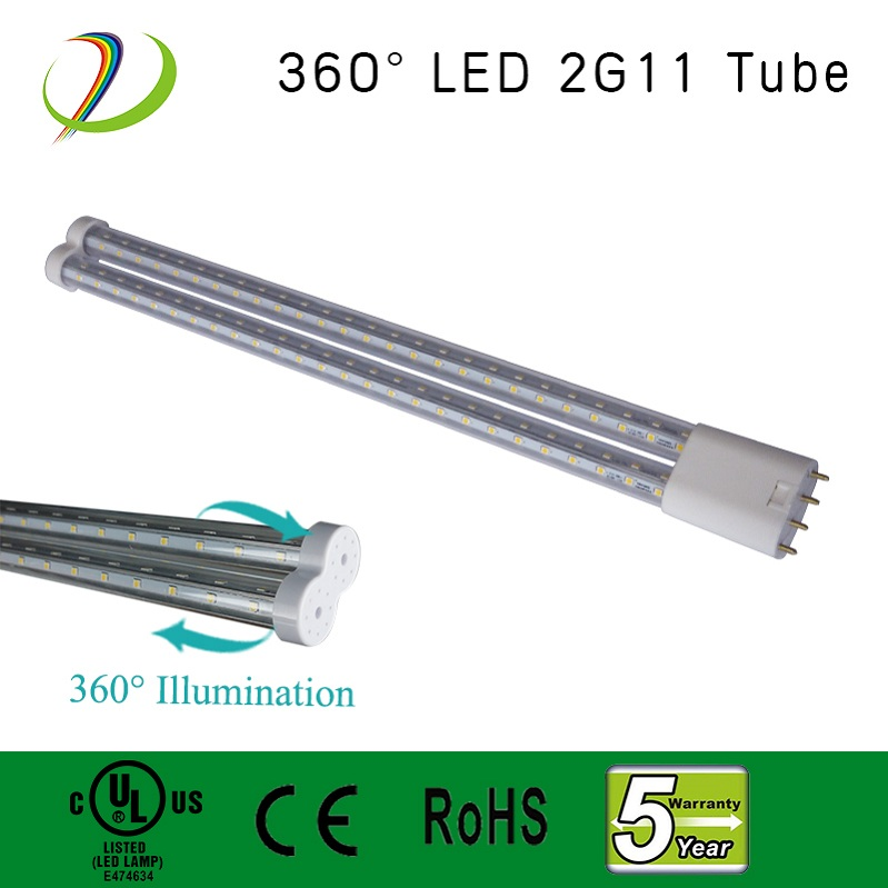 UL cUL 2g11 base led tube light