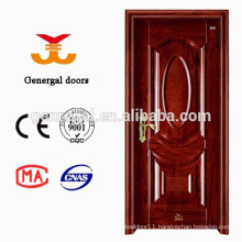Honeycomb core interior steel doors