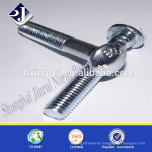 grade 8.8 zinc plated track bolt for lift