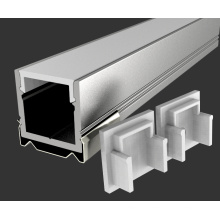 Caixa de alumínio leve montada na superfície