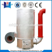 vertical hot-blast stove connect with seed dryer
