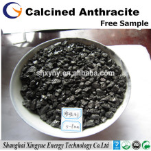 C 92% Calcined anthracite coal recarbonizer/carbon additive for steel mills