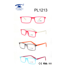 2017 Square Shape Multi Color PC Optical Glasses (PL1213)