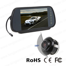 7inch Rear View Mirror Monitor System with 185 Degree Camera