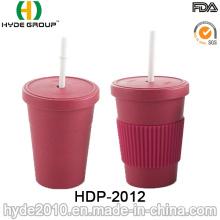 Non-Toxic Eco-Friendly Bamboo Fiber Coffee Cup (HDP-2012)